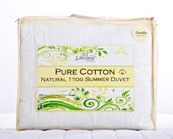 2 Tog King Size Duvet 1 Tog Natural Pure 100 Cotton Summer Duvet Single Double King