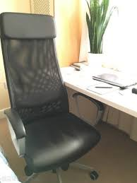 Markus Chair Black Leather Ikea Office Chair Markus Swivel Chair For Sale In