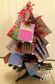 pot of gold lottery ticket bouquet gift idea fill bottom with