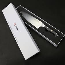 sunnecko 8 u2033 inch chef knife liquid metal blade 70hrc strong
