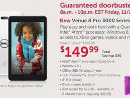 dell black friday 2014 ad leaks with sub 200 windows 8 1 tablet