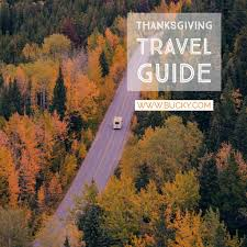 thanksgiving travel guide bucky