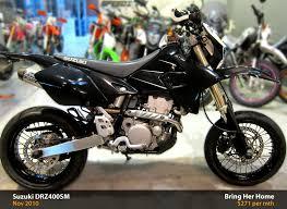 suzuki motorcycle black suzuki drz400sm black 2010 used bike mart sg bike for sales