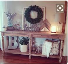 Best 25 Rustic entry table ideas on Pinterest