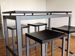 dining table minimalist bar height dining table bar dining