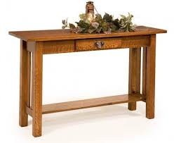 Oak Sofa Table Craftsman Collection Of Stickley Mission Style Furniture
