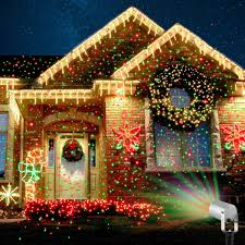 Christmas House Light Show by Amazon Com 2 Color Motion Laser Light Star Projector With Rf