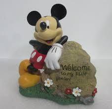 disney mickey mouse garden rock