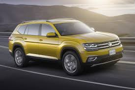 volkswagen 7 passenger suv 2018 vw atlas is a brand new 7 seater large crossover for north