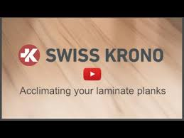 acclimation of your laminate flooring planks