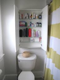 bathroom small cabinets wall cabinet with towel bar over the