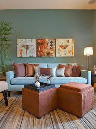 blue brown color scheme living room nakicphotography