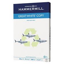 hammermill recycled copy paper 92 brightness 20lb 11 x 17