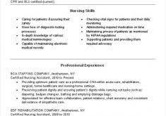 Sample Cna Resumes by Winning Sample Cna Resume Classy Resume Cv Cover Letter