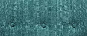fauteuil design tissu fauteuil design tissu bleu canard pieds noyer olaf miliboo