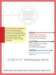hotel door hanger template door hanger template free premium templates