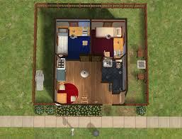 mod the sims 1x1 tiny dorms for 2 no cc