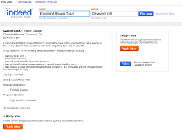 Find Indeed Browns Quarterback Job Position Listed On Indeed Com