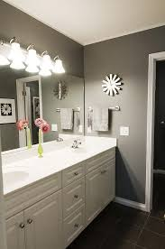 Gray Bathroom Paint 43 Best Home Gray Bathroom Images On Pinterest Gray Bathrooms