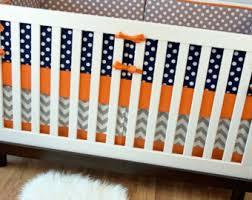 navy orange nursery etsy