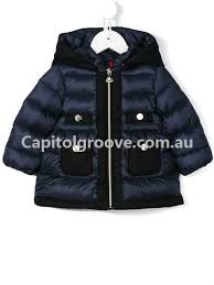moncler kids jackets jules u0027 padded jacket white baby girls