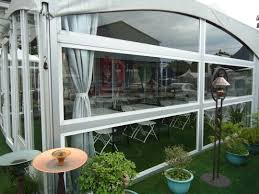 6m x 12m horizontal glass wall tent high quality 6m x 12m