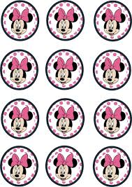 instant download printable 12 minnie mouse birthday cupcake