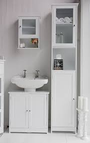 white freestanding tall bathroom cabinet not nz bathroom