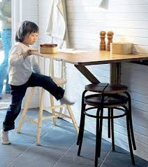 Ideas To Use Small Folding Tables On A Kitchen Shelterness - Table for small kitchen