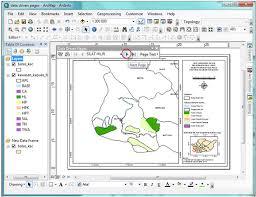 isi layout peta belajar arcgis 10 membuat banyak layout dalam satu mxd dengan