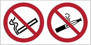 vapoter dans les bureaux autocollant horizontal interdiction de fumer et de vapoter seton fr