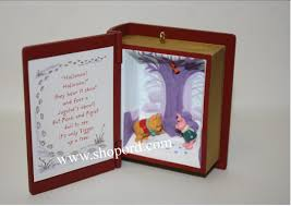 hallmark 2001 tracking the jagular winnie the pooh ornament 4th in