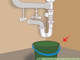 clogged bathroom sink drain glamorous 4 ways to unclog a slow running bathroom sink drain