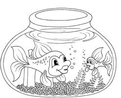 aquarium fish coloring pages coloring pages