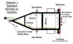 utility trailer light wiring diagram and required parts etrailer com