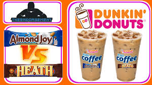 Coffee Dunkin Donut dunkin donuts皰 almond joy皰 vs heath bar皰 iced coffee review 277