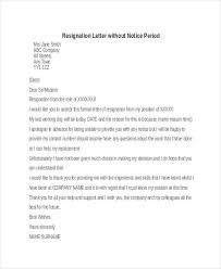 formal resignation letter formal resignation letter sample