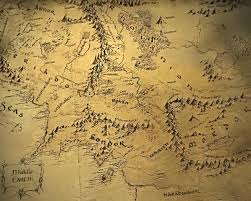 map of the lord of the rings lord of the rings map middle earth travel maps and major tourist