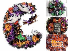 witch crafters halloween decor the best halloween wreath ideas