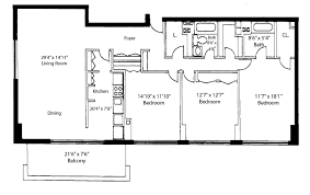 1 Bedroom House Floor Plans Floorplans U2013 Madison House Condos