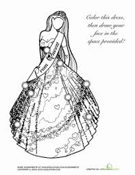 92 coloring dress wedding dress pin