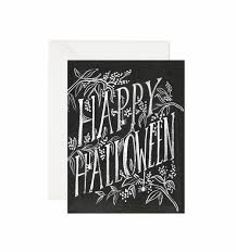 scratchy halloween greeting card by rifle paper co made in usa