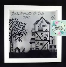 new home keepsake frame new home gift first home gift couple