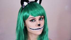halloween makeup with cat eye contacts images