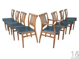Drexel Dining Room Table by Drexel Mid Century Modern Dining Chairs One And Home Denver