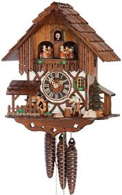 Awesome Clocks by Furniture Awesome Cuckoo Clock Made Of Wood With Daily Life Scene