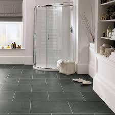 slate effect vinyl floor tiles