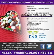nclex rn lpn pn pharmacology review 5 audio cds box set