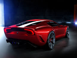 ferrari supercar concept this ferrari concept marries timeless proportions with modern v12