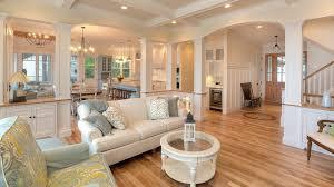 Flooring For Open Floor Plans Profit Concept Kitchen Living Room Open Floor Plan Interior For